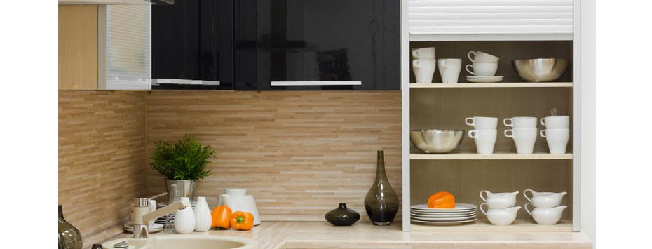 Functional kitchen features