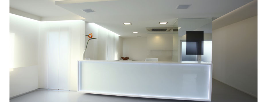 Custom reception areas